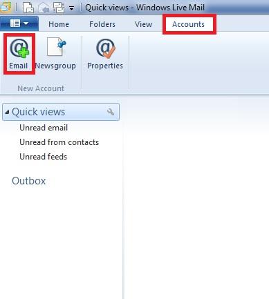Windows Live Mail 1