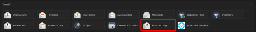 cpanel-email-section-email-disk-usage-feature