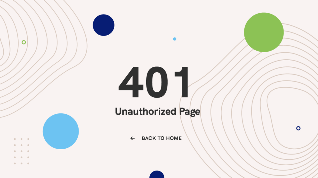 401-unauthorized-page-error