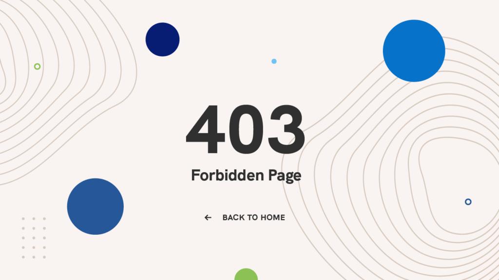 403-forbidden-page-HTTP-code-error