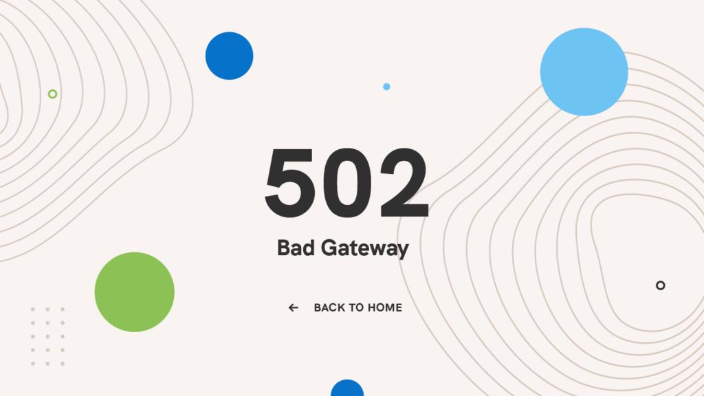 503-bad-gateway-HTTP-code-error