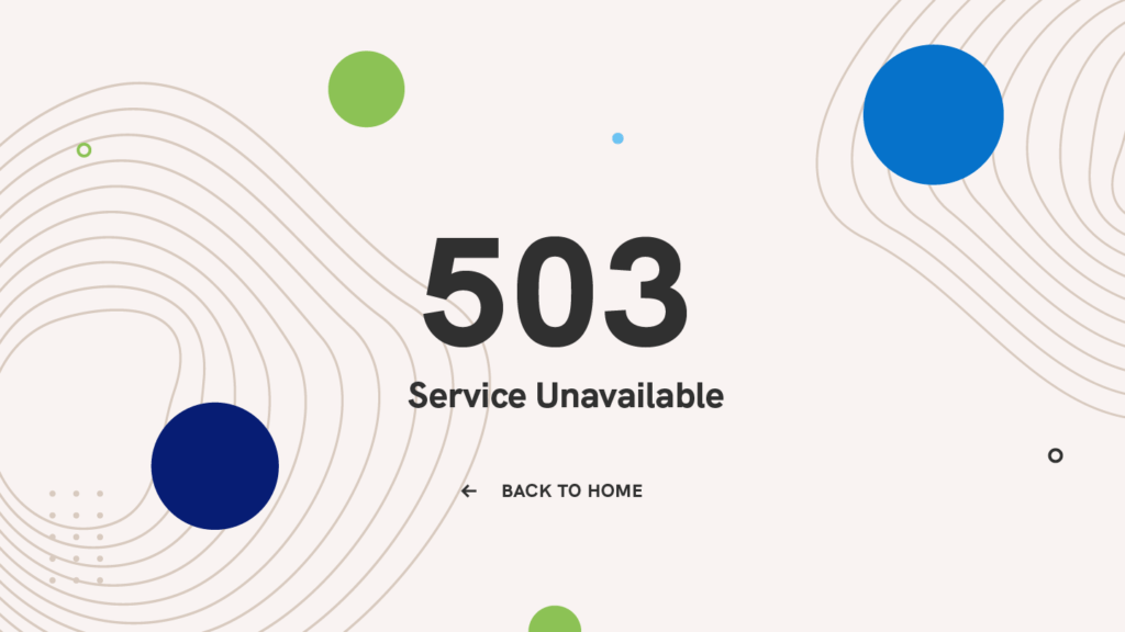503-service-unavailable-error