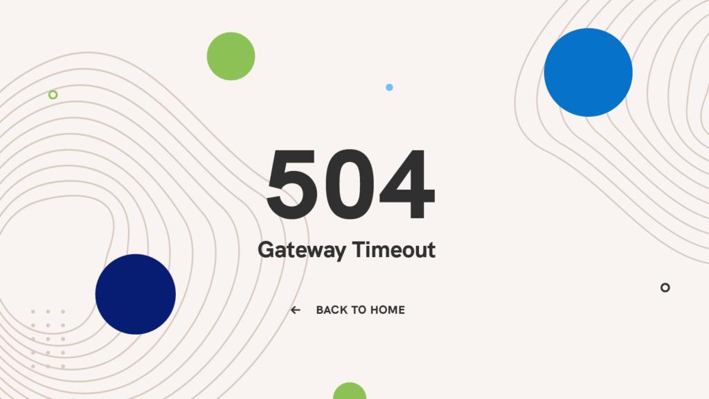 504-gateway-timeout-error