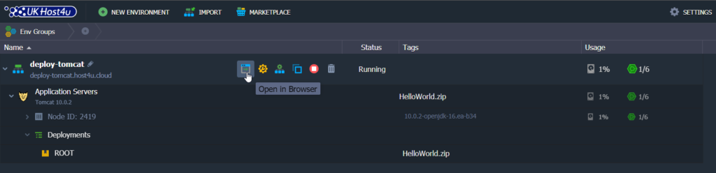 open-in-browser-button-tomcat-server-cloud-environment-with-ukhost4u-topology-wizard-cloud-platform