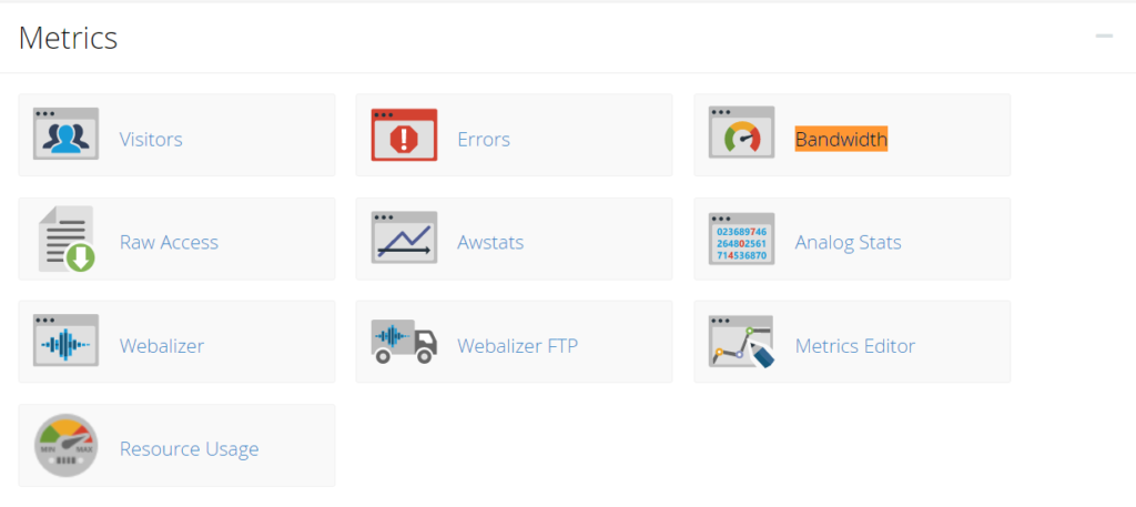 viewing disk space and usage for shared account in cpanel - ukhost4u.com